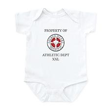 Sacred Heart Athletic Dept. Infant Bodysuit