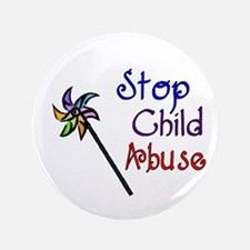 "Child Abuse Awareness 3.5"" Button"