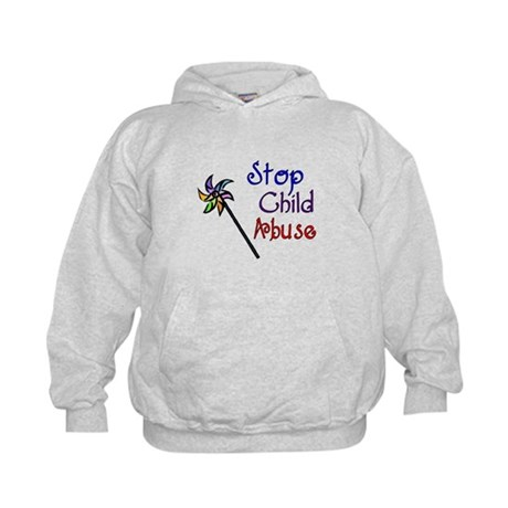Child Abuse Awareness Kids Hoodie