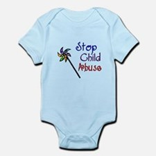 Child Abuse Awareness Infant Bodysuit