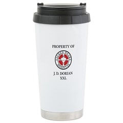 Property of J D Dorian Travel Mug