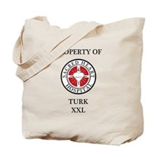 Property of Turk Tote Bag
