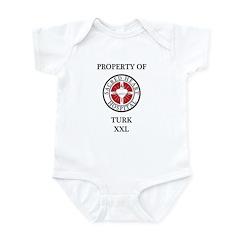Property of Turk Infant Bodysuit