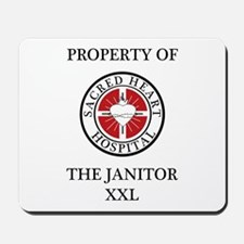 Property of The Janitor Mousepad