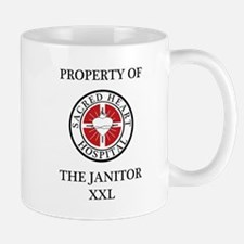 Property of The Janitor Mug