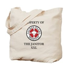 Property of The Janitor Tote Bag