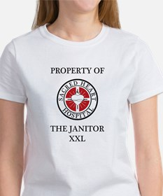 Property of The Janitor Tee