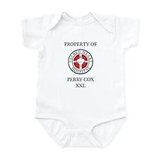 Property of Perry Cox XXL Infant Bodysuit