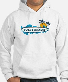 Folly Beach SC - Surf Design Hoodie