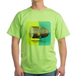 Dhol Player. Green T-Shirt