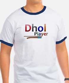 Dhol Player. Special Colorful T