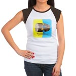 Dhol Player. Women's Cap Sleeve T-Shirt