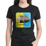 Dhol Player. Women's Dark T-Shirt