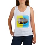 Dhol Player. Women's Tank Top
