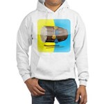 Dhol Player. Hooded Sweatshirt