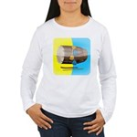 Dhol Player. Women's Long Sleeve T-Shirt