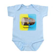Dhol Player. Infant Bodysuit