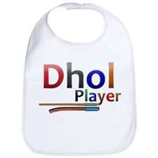 Dhol Player. Bib