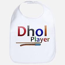Dhol Player. Bib