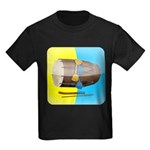 Dhol Player. Kids Dark T-Shirt