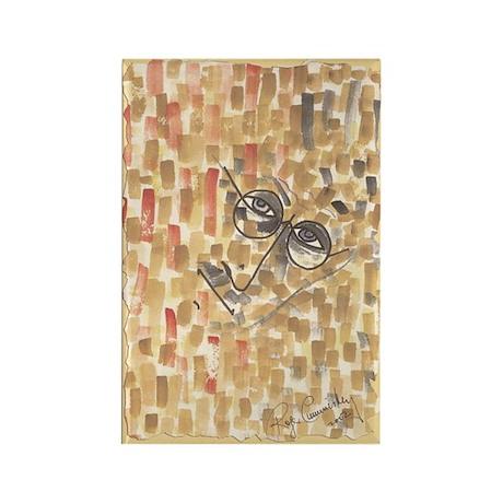 Abstract head J Joy... Magnets