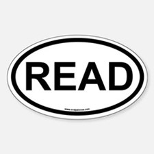 READ Sticker (Oval)