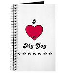 I LOVE MY DOG Journal