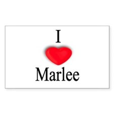 Marlee Rectangle Decal