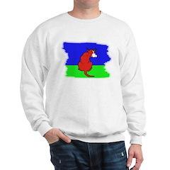 ARTISTIC CARTOON DOG Sweatshirt