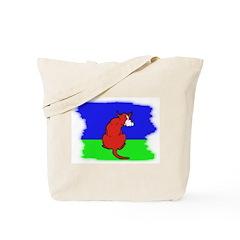 ARTISTIC CARTOON DOG Tote Bag
