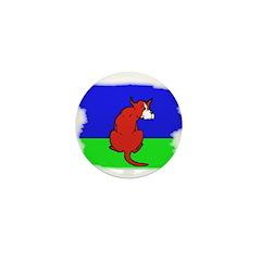 ARTISTIC CARTOON DOG Mini Button (100 pack)