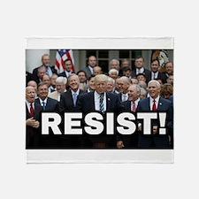 RESIST! Throw Blanket