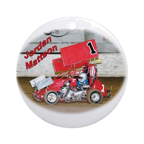 Jordon Mattson Ornament (Round)