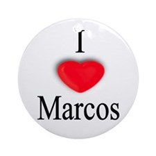 Marcos Ornament (Round)