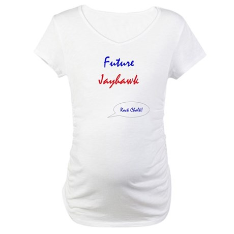 Future Jayhawk Maternity T-Shirt