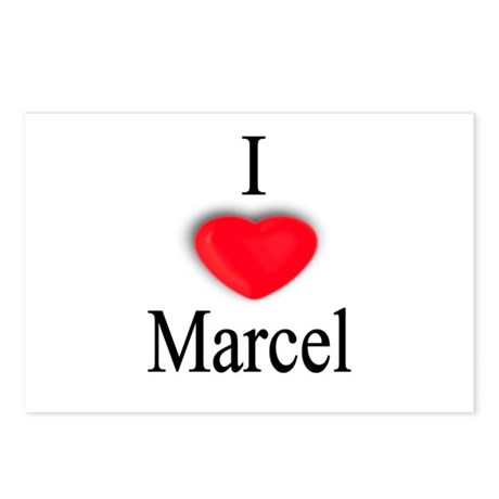Marcel Postcards (Package of 8)