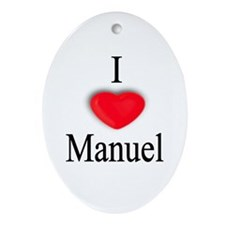 Manuel Oval Ornament