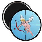 "Target Cupid 2.25"" Magnet (100 pack)"