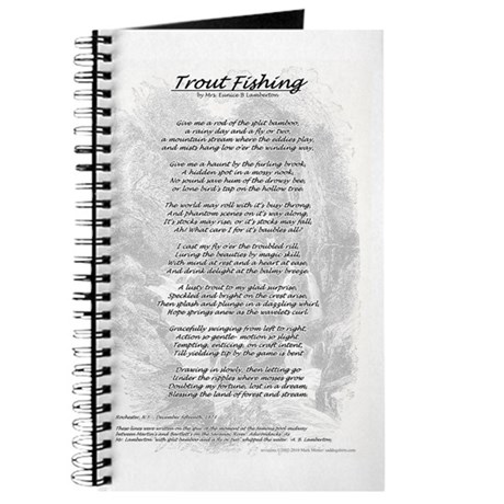 Trout Fishing Poem Journal