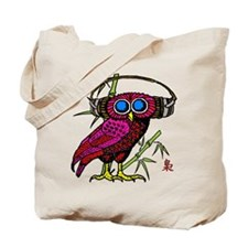 DJ HOOT OWL LIVE FROM JAPAN Tote Bag