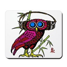 DJ HOOT OWL LIVE FROM JAPAN Mousepad