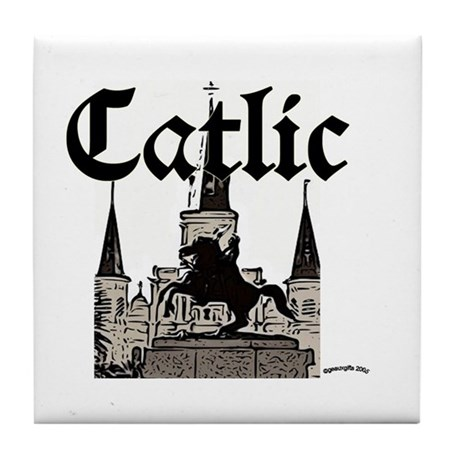 Catlic - St. Louis Cathedral Tile Coaster
