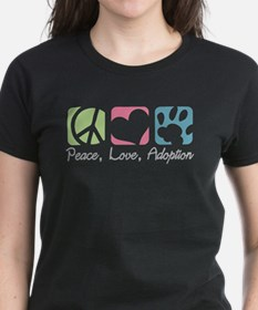 Peace, Love, Adoption Tee