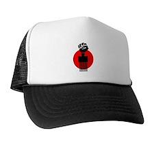 Black Fist Power Trucker Hat