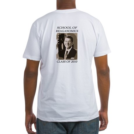 Reaganomics Fitted T-Shirt