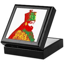 Haile Selassie Keepsake Box