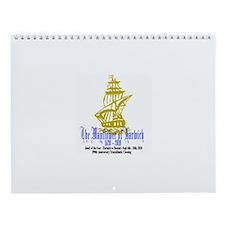 Mayflower Cruise Wall Calendar