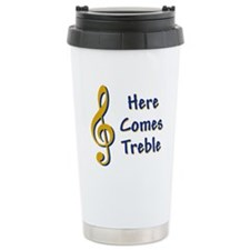 Here Comes Trouble Travel Coffee Mug