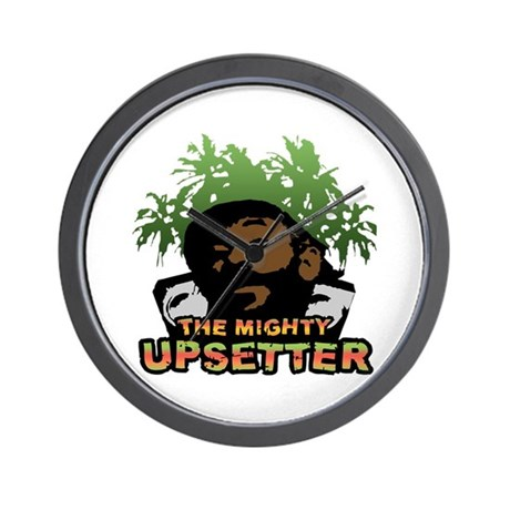 The Mighty Upsetter Wall Clock