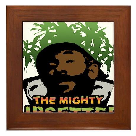 The Mighty Upsetter Framed Tile